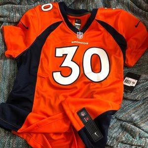 🧡NFL Denver Broncos Lindsay Jersey